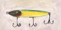 Retro Fishing Lure IV Fine Art Print