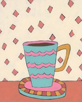 Mid Morning Coffee I Framed Print