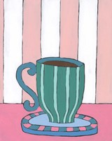 Mid Morning Coffee II Framed Print