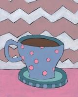 Mid Morning Coffee V Framed Print