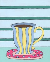 Mid Morning Coffee VI Framed Print