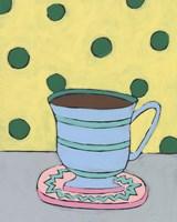Mid Morning Coffee VIII Framed Print