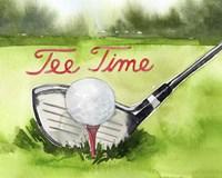 Tee Off Time III Fine Art Print