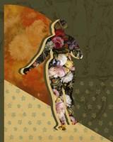 Goddess of the Flora II Framed Print