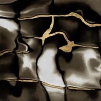 Golden Shimmer IV Framed Print