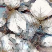 Neutral Summer Leaves I Framed Print
