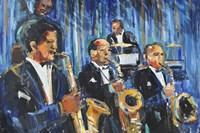 Horn Section Fine Art Print