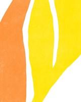 Color Cuts V Framed Print