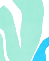 Color Cuts XIV Framed Print