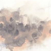 Smoke Surface I Framed Print
