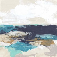 Palette Coast I Framed Print