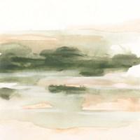 Marsh at Dusk II Framed Print
