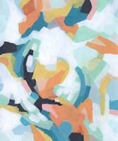 Sorbet Swirl II Framed Print