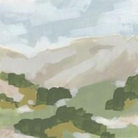 Hillside Impression I Framed Print