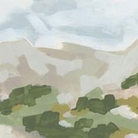 Hillside Impression II Framed Print