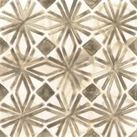 Umber Tile I Framed Print