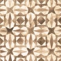 Umber Tile II Framed Print