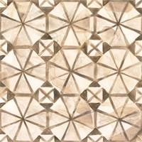 Umber Tile IV Framed Print