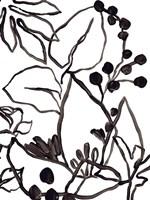 Tropical Outlines I Framed Print