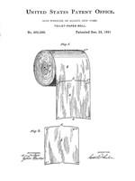 Bath Time Patents VI Framed Print