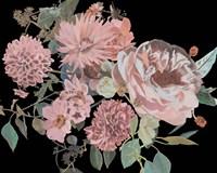 Night Blooming Flowers I Framed Print
