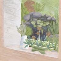 Window Plants II Framed Print