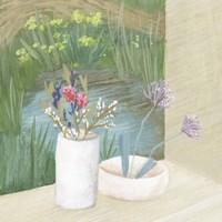 Window Plants III Framed Print