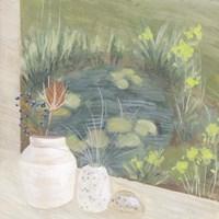 Window Plants IV Framed Print