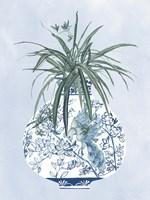 Moonlight Vase III Framed Print