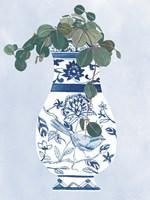 Moonlight Vase IV Framed Print