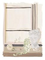 By My Window II Framed Print