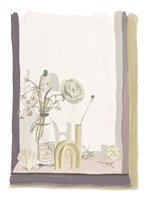 By My Window III Framed Print
