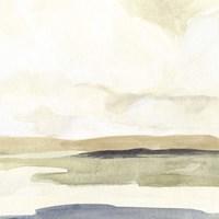 Slate Horizon II Framed Print