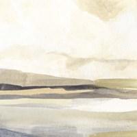 Slate Horizon III Framed Print