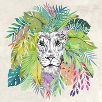 King of the Jungle (detail) Fine Art Print