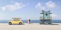 Waiting for the Waves, Miami Beach (detail) Fine Art Print
