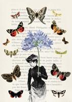 Lady of Butterflies Fine Art Print