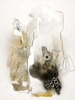 Aqua Sketch 1 Framed Print