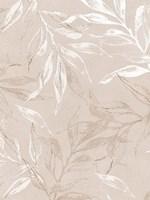 White Leaves 2 Framed Print