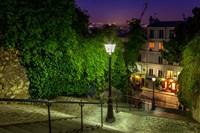 Montmartre Steps Fine Art Print