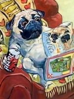 Bark a Lounger Fine Art Print