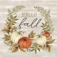 Hello Fall Framed Print