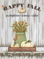 Happy Fall Fine Art Print