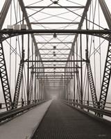 Life is a Bridge Framed Print