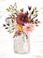 Autumn Floral II Framed Print