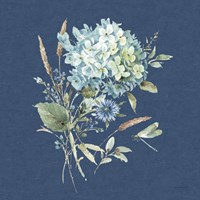 Bohemian Blue 03B Framed Print