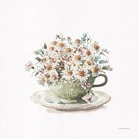 Garden Tea 01 Framed Print