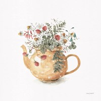 Garden Tea 02 Framed Print