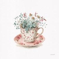 Garden Tea 04 Framed Print