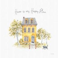 Happy Yellow 17A Fine Art Print